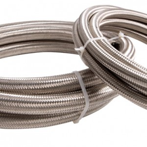 Stainless steel braided rubber hose