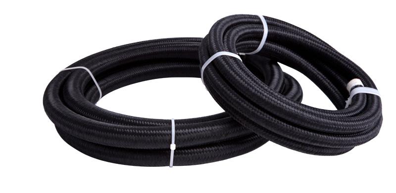 Light weight nylon braided rubber hose E85 safe