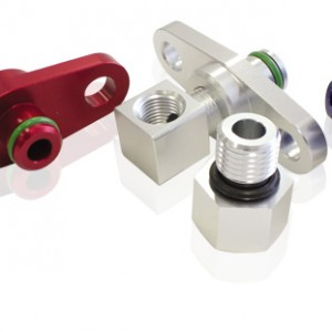 Fuel rail adapters